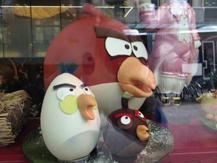 Mangez-moi, mangez-moi, les Angry Birds en Chocolat ! - Mac4ever | Baking and Tea | Scoop.it