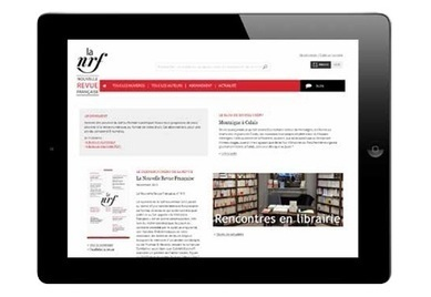 La Nouvelle Revue française : les archives numériques sont disponibles   L'e-Space Multimédia   Scoop.it