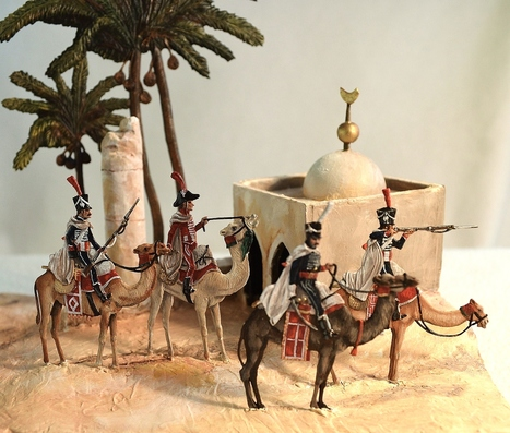 CAMPAIGN OF EGYPT II _ THE REGIMENT OF DRAMA - Empire in Diorama | Military Miniatures H.Q. | Scoop.it