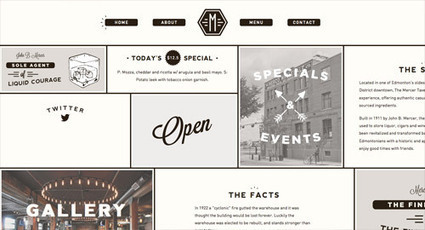 25 Web Designs with Modular Content Block Layouts | IA-UX | Scoop.it