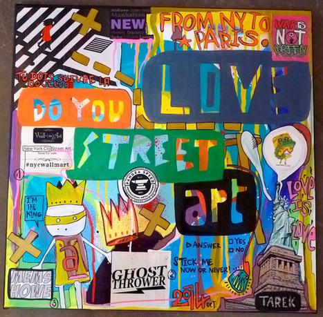 Do you love Street art ? | Tarek artwork | Scoop.it