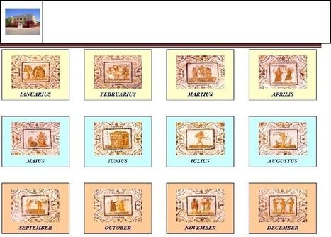 Calendario de Familia Romana | cultura clásica | Scoop.it
