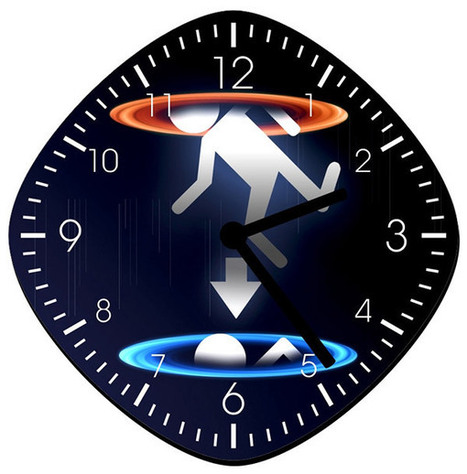Portal Wall Clock: Time for Testing | All Geeks | Scoop.it