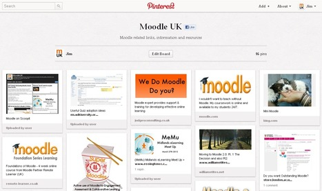 Pinterest: Are you Pinterested in Moodle? | MoodleUK | Scoop.it