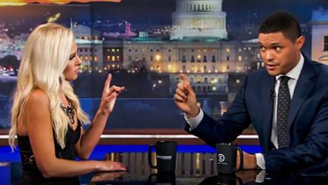 OUCH! Tomi Lahren DESTROYS Liberal Hack Trevor Noah (Video) | Conservative Politics | Scoop.it