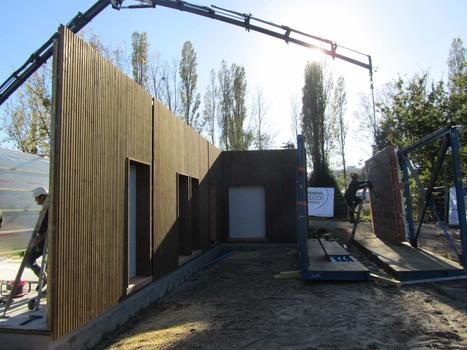 Deux maisons bois BEPos se posent sur le chantier Villavenir + Atlantique | Le flux d'Infogreen.lu | Scoop.it