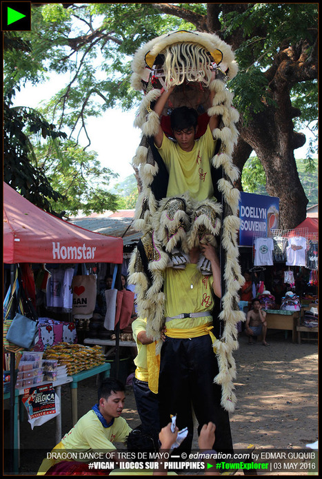 [Vigan] ► The Lion Dance and the Culture on the 3rd of May | #TownExplorer | Exploring Philippine Towns | Scoop.it