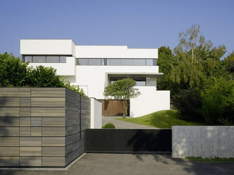 Contemporary, Sustainable Multi-Generational House in Germany   German Information for German1 and 2   Scoop.it