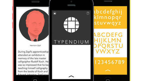 The Cool Stories Behind Famous Typefaces: New App Tells All | High-Tech Techniques for Education | Scoop.it