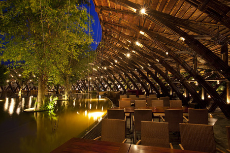 Bamboo Wing Restaurant - the merits of steel-free design | Broad Canvas | Scoop.it