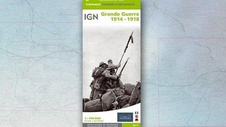 Une carte IGN des batailles de la Grande Guerre 14-18 – centenaire 14-18 - France 3 Champagne-Ardenne | DIDACTIQUE DE L'HISTOIRE & GEOGRAPHIE | Scoop.it