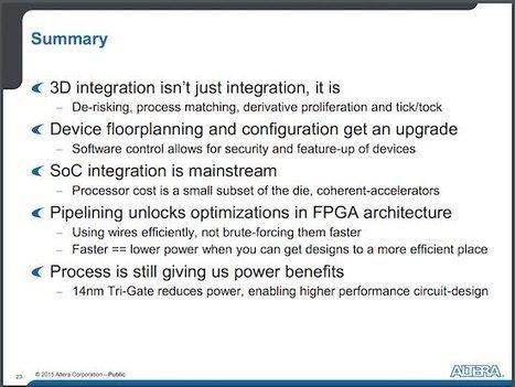 Video: Altera's Stratix 10 - 14nm FPGA Targeting 1GHz Performance - insideHPC | opencl, opengl, webcl, webgl | Scoop.it