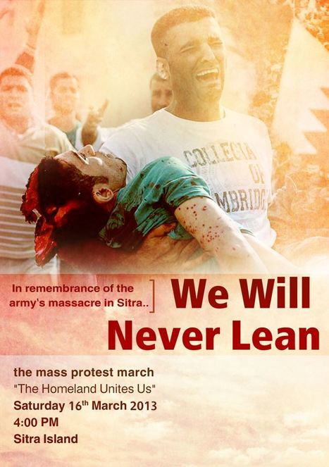 The Homeland Unites Us March in Bahrain!   Human Rights and the Will to be free   Scoop.it