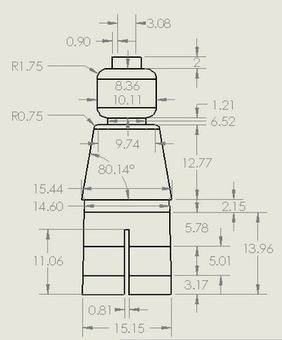 LEGO Minifig Dimensions - wanna design your own minifig in CAD | Teaching SolidWorks | Scoop.it