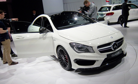 2014 Mercedes-Benz CLA45 AMG 4-Door Coupe | Mercedes-Benz | Scoop.it