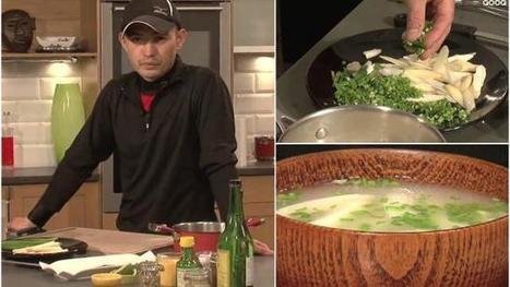 Cuisine. Apprenez à préparer une soupe au miso | Hisayuki Takeuchi, cook master | Scoop.it