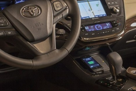2013 Toyota Avalon jump-starts wireless phone charging in cars | Mobility Evangelist's Digest | Scoop.it