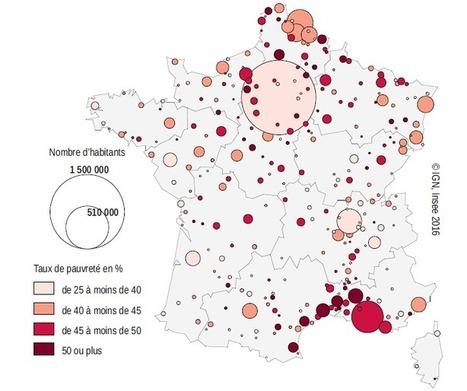 Les habitants des QUARTIERS de la politique de la ville (Insee Première) | URBANmedias | Scoop.it