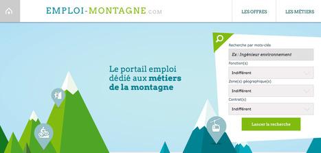 La plateforme emploi-montagne.com est lancée | Neige et Granite | Scoop.it