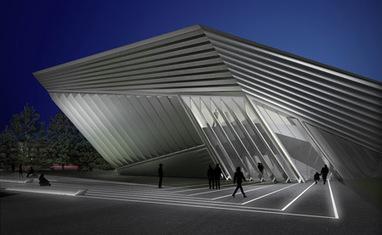 Eli & Edythe Broad Art Museum by Zaha Hadid - Dezeen   Zaha Hadid Architects   Scoop.it