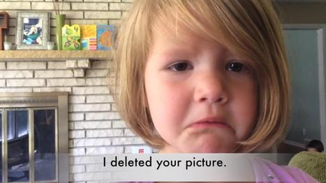 Adorable girl in tears after accidentally deleting photo of her uncle - KTRK-TV | Emotional Photograph | Scoop.it