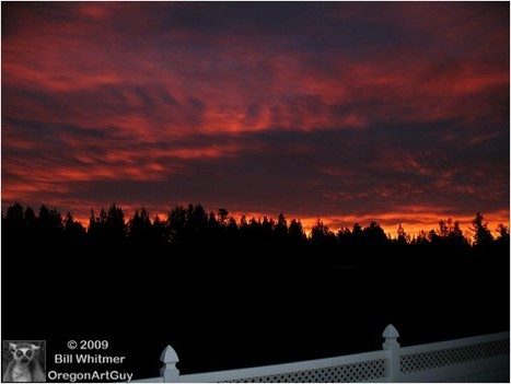 Sunrise This Morning 11 26 2009... | RedGage | Art, photography and painting | Scoop.it