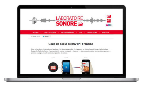 IP France lance un blog dédié à la pub radio | Radio 2.0 (En & Fr) | Scoop.it