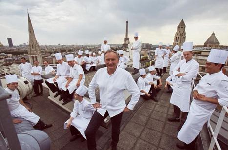 Rencontre avec le chef étoilé Christian Le Squer | Gastronomie Française 2.0 | Scoop.it