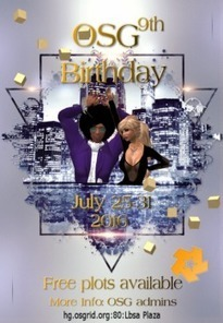 OSgrid celebrates 9th birthday in July – | Virtual Worlds, Virtual Reality & Role Play | Scoop.it