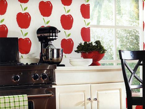 El papel pintado en la cocina - Decorar con papel pintado | Diseño de interiores para mi casa | Scoop.it