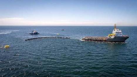 Ocean Cleanup's first trash-catching trials cut short by busted boom | Oceans and Wildlife | Scoop.it
