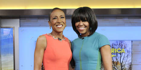 Michelle Obama Congratulates Robin Roberts On Coming Out - Huffington Post | All Things Lesbian | Scoop.it