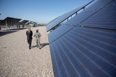 US Navy to battle climate change with new 210MW solar farm | James Phillips | BusinessGreen.com | Développement durable et efficacité énergétique | Scoop.it