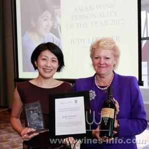 Judy Leissner awarded Asian Wine Personality of the Year 2012   Vitabella Wine Daily Gossip   Scoop.it