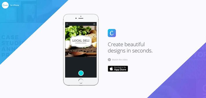 Canva, l'app de création d'images pour les réseaux sociaux, est disponible sur iPhone - Blog du Modérateur | TIC et TICE mais... en français | Scoop.it