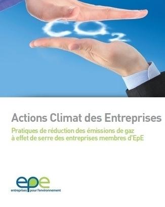 42 grandes entreprises détaillent leur action de lutte contre les émissions de gaz à effet de serre | Economie de la fonctionnalité, un changement en marche | Scoop.it