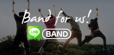 Line Band, la red social de Line llega a España - AndroidAyuda - Android Ayuda   Rippln la nueva app de movil   Scoop.it