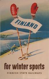 PosterTeam.com - Poster: Finland for Winter Sports | Finland | Scoop.it