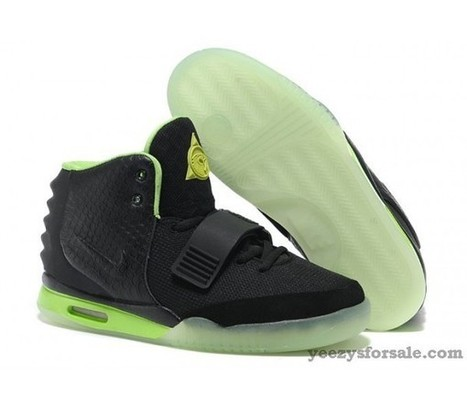 Nike Air Yeezy 2 Black/Volt [Air-Yeezy-2-08] - $89.99 : | Cheap air yeezy for sale for free shipping | Scoop.it