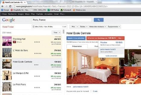 Google Hotel Finder déployé - Hospitality On - Hospitality HUB and hotels news | Distribution hôtelière | Scoop.it