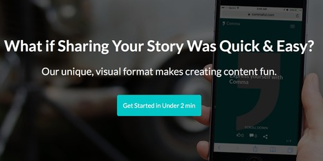 Comma: Share your story! | Tools for Teachers & Learners | Scoop.it