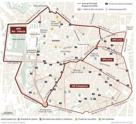 Madrid Moves Toward a Car-Free Center City | Streetsblog USA | Sustain Our Earth | Scoop.it