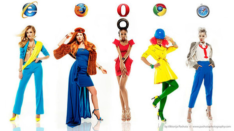 If Girls Were Internet Browsers | All Geeks | Scoop.it