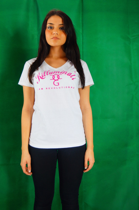 check out our killuminati white and pink t-shirts | urban clothing | Scoop.it