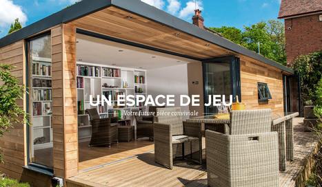 Pièces de jardin idéales comme bureaux de jardin, studios de jardin et pièces d'extérieur   bureau de jardin   Scoop.it