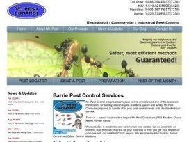 Mr. Pest Control Reviews, 6 Maplehill Drive, Shanty Bay | Pest Control | n49.ca | Pest and Animal Control Guide | Scoop.it