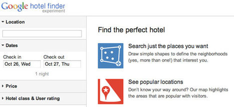 Google Hotel Finder live in Europa! | Social Media Italy | Scoop.it