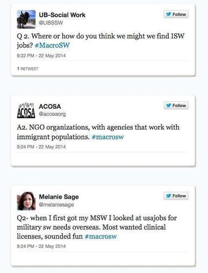 Summary of International Social Work Twitter Chat ... | Social work ethics | Scoop.it