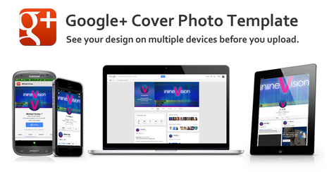 Google Plus Cover Photo & Profile Photo Template | Social Media Marketing | Scoop.it