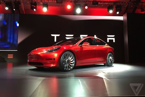 Tesla has received almost 400,000 preorders for the Model 3 | Innovation at the Crossroads of Tech and Human Action | Scoop.it